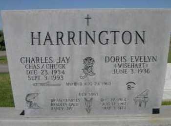 HARRINGTON, CHARLES JAY (CHUCK) - Dawes County, Nebraska | CHARLES JAY (CHUCK) HARRINGTON - Nebraska Gravestone Photos