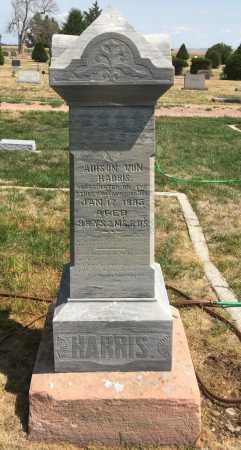 HARRIS, ADISON VON - Dawes County, Nebraska | ADISON VON HARRIS - Nebraska Gravestone Photos