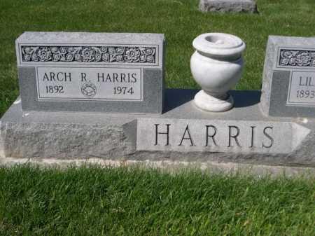 HARRIS, ARCH R. - Dawes County, Nebraska | ARCH R. HARRIS - Nebraska Gravestone Photos