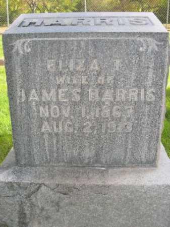 HARRIS, ELIZA T. - Dawes County, Nebraska | ELIZA T. HARRIS - Nebraska Gravestone Photos