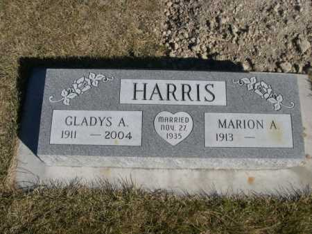 HARRIS, MARION A. - Dawes County, Nebraska | MARION A. HARRIS - Nebraska Gravestone Photos