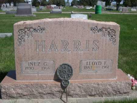 HARRIS, LLOYD F. - Dawes County, Nebraska | LLOYD F. HARRIS - Nebraska Gravestone Photos