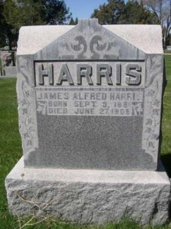 HARRIS, JAMES ALFRED - Dawes County, Nebraska | JAMES ALFRED HARRIS - Nebraska Gravestone Photos