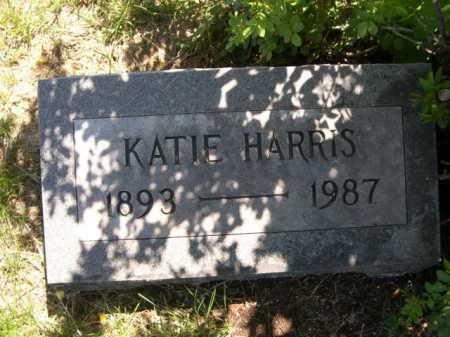 HARRIS, KATIE - Dawes County, Nebraska   KATIE HARRIS - Nebraska Gravestone Photos