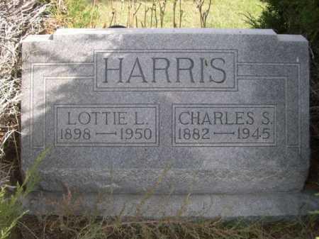 HARRIS, CHARLES S. - Dawes County, Nebraska   CHARLES S. HARRIS - Nebraska Gravestone Photos
