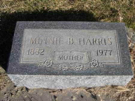 HARRIS, MINNIE B. - Dawes County, Nebraska | MINNIE B. HARRIS - Nebraska Gravestone Photos