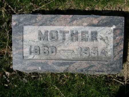 HARRIS, MOTHER - Dawes County, Nebraska   MOTHER HARRIS - Nebraska Gravestone Photos