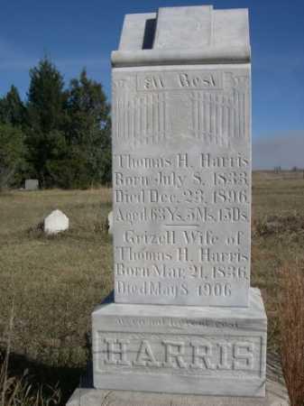 HARRIS, GRIZELL - Dawes County, Nebraska | GRIZELL HARRIS - Nebraska Gravestone Photos