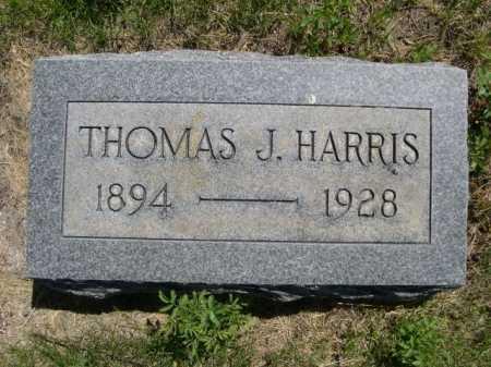 HARRIS, THOMAS J. - Dawes County, Nebraska | THOMAS J. HARRIS - Nebraska Gravestone Photos