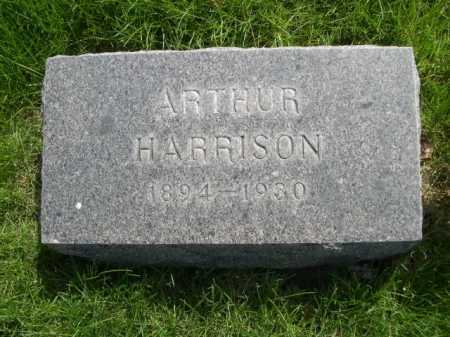 HARRISON, ARTHUR - Dawes County, Nebraska | ARTHUR HARRISON - Nebraska Gravestone Photos