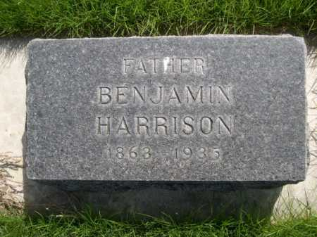 HARRISON, BENJAMIN - Dawes County, Nebraska | BENJAMIN HARRISON - Nebraska Gravestone Photos