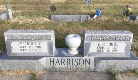 HARRISON, E. C. (BUD) - Dawes County, Nebraska | E. C. (BUD) HARRISON - Nebraska Gravestone Photos