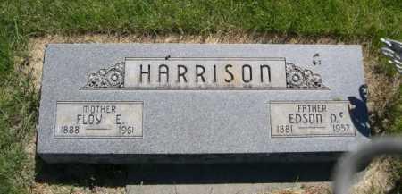 HARRISON, FLOY E. - Dawes County, Nebraska | FLOY E. HARRISON - Nebraska Gravestone Photos