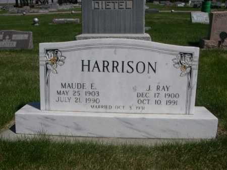 HARRISON, J. RAY - Dawes County, Nebraska | J. RAY HARRISON - Nebraska Gravestone Photos