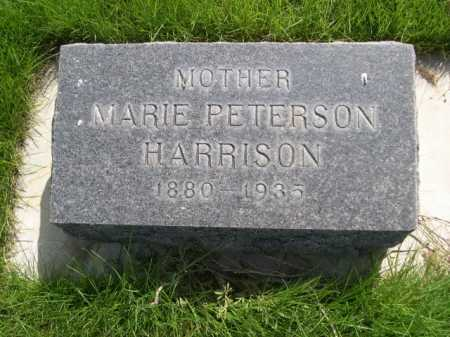 PETERSON HARRISON, MARIE - Dawes County, Nebraska | MARIE PETERSON HARRISON - Nebraska Gravestone Photos
