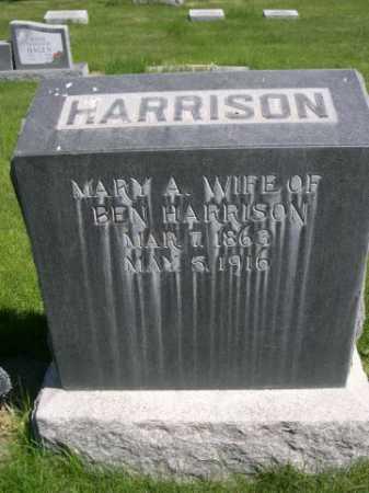 HARRISON, MARY A. - Dawes County, Nebraska | MARY A. HARRISON - Nebraska Gravestone Photos
