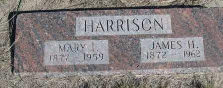 HARRISON, MARY I. - Dawes County, Nebraska | MARY I. HARRISON - Nebraska Gravestone Photos