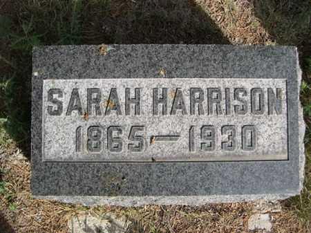 HARRISON, SARAH - Dawes County, Nebraska | SARAH HARRISON - Nebraska Gravestone Photos