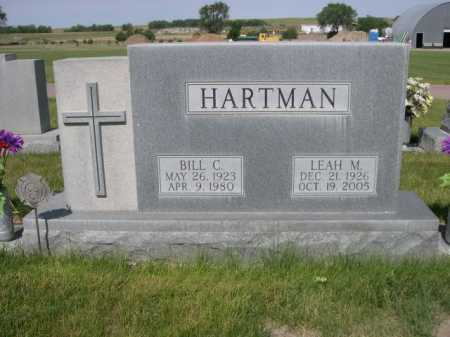 HARTMAN, BILL C. - Dawes County, Nebraska | BILL C. HARTMAN - Nebraska Gravestone Photos