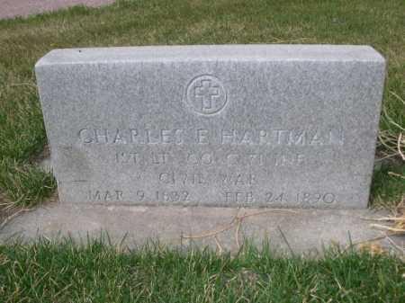 HARTMAN, CHARLES E. - Dawes County, Nebraska | CHARLES E. HARTMAN - Nebraska Gravestone Photos