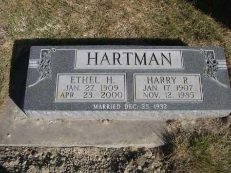 HARTMAN, HARRY R. - Dawes County, Nebraska   HARRY R. HARTMAN - Nebraska Gravestone Photos
