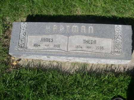 HARTMAN, THEDA - Dawes County, Nebraska | THEDA HARTMAN - Nebraska Gravestone Photos