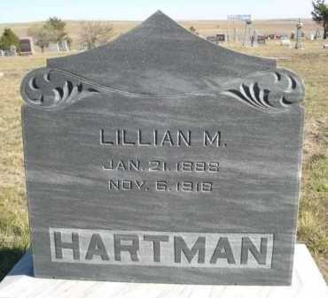 HARTMAN, LILLIAN M. - Dawes County, Nebraska | LILLIAN M. HARTMAN - Nebraska Gravestone Photos