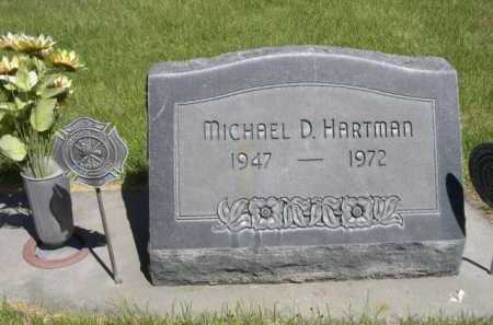 HARTMAN, MICHAEL D. - Dawes County, Nebraska   MICHAEL D. HARTMAN - Nebraska Gravestone Photos