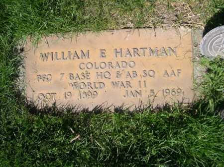 HARTMAN, WILLAIM E. - Dawes County, Nebraska | WILLAIM E. HARTMAN - Nebraska Gravestone Photos