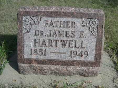 HARTWELL, DR. JAMES E. - Dawes County, Nebraska | DR. JAMES E. HARTWELL - Nebraska Gravestone Photos