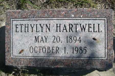 HARTWELL, ETHYLYN - Dawes County, Nebraska   ETHYLYN HARTWELL - Nebraska Gravestone Photos