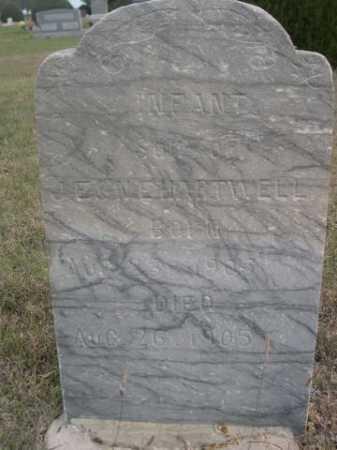 HARTWELL, INFANT SON OF J.E. & N. E. - Dawes County, Nebraska | INFANT SON OF J.E. & N. E. HARTWELL - Nebraska Gravestone Photos