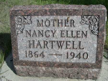 HARTWELL, NANCY ELLEN - Dawes County, Nebraska | NANCY ELLEN HARTWELL - Nebraska Gravestone Photos