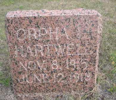 HARTWELL, ORPHA  L. - Dawes County, Nebraska | ORPHA  L. HARTWELL - Nebraska Gravestone Photos
