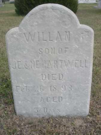 HARTWELL, WILLAN - Dawes County, Nebraska | WILLAN HARTWELL - Nebraska Gravestone Photos