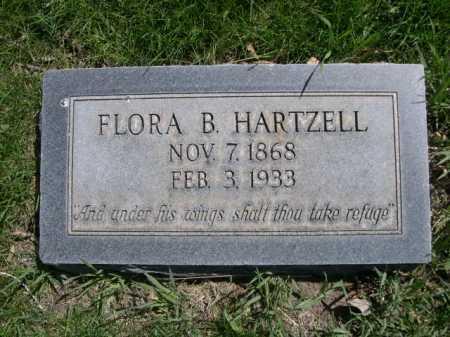 HARTZELL, FLORA B. - Dawes County, Nebraska | FLORA B. HARTZELL - Nebraska Gravestone Photos