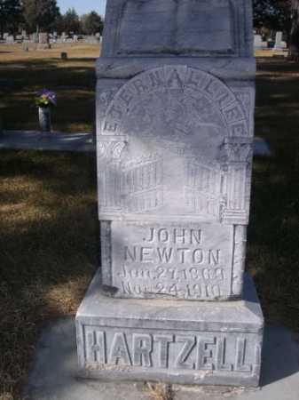 HARTZELL, JOHN NEWTON - Dawes County, Nebraska | JOHN NEWTON HARTZELL - Nebraska Gravestone Photos