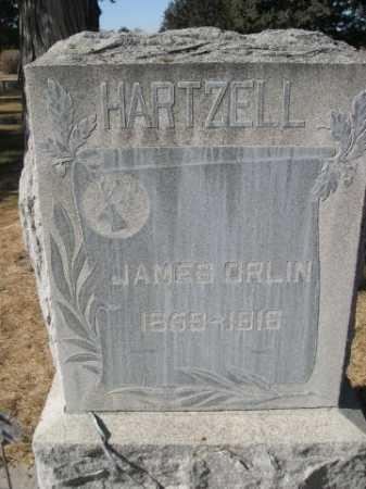 HARTZELL, JAMES ORLIN - Dawes County, Nebraska | JAMES ORLIN HARTZELL - Nebraska Gravestone Photos