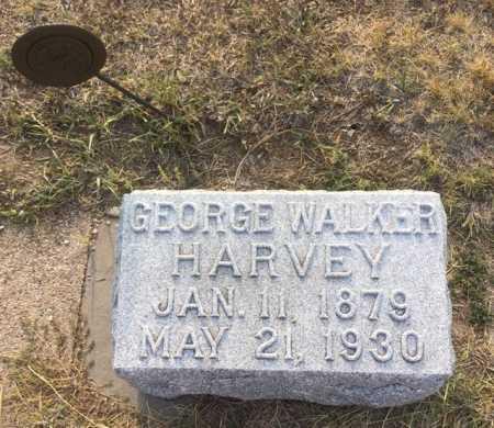HARVEY, GEORGE WALKER - Dawes County, Nebraska | GEORGE WALKER HARVEY - Nebraska Gravestone Photos
