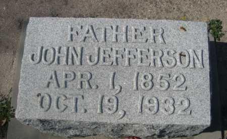 HARVEY, JOHN JEFFERSON - Dawes County, Nebraska   JOHN JEFFERSON HARVEY - Nebraska Gravestone Photos