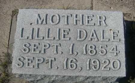 HARVEY, LILLIE DALE - Dawes County, Nebraska | LILLIE DALE HARVEY - Nebraska Gravestone Photos