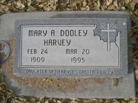 HARVEY, MARY A DOOLEY - Dawes County, Nebraska | MARY A DOOLEY HARVEY - Nebraska Gravestone Photos