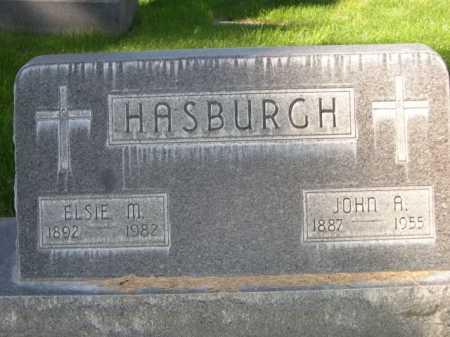 HASBURCH, JOHN A. - Dawes County, Nebraska | JOHN A. HASBURCH - Nebraska Gravestone Photos