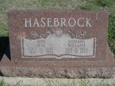 HASEBROCK, WILLIAM - Dawes County, Nebraska | WILLIAM HASEBROCK - Nebraska Gravestone Photos