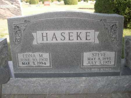 HASEKE, STEVE - Dawes County, Nebraska | STEVE HASEKE - Nebraska Gravestone Photos