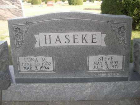 HASEKE, EDNA M. - Dawes County, Nebraska   EDNA M. HASEKE - Nebraska Gravestone Photos