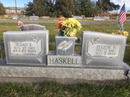HASKELL, EUGENE F. - Dawes County, Nebraska | EUGENE F. HASKELL - Nebraska Gravestone Photos