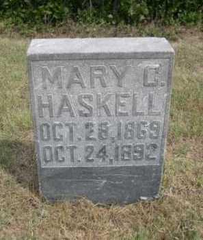 HASKELL, MARY C. - Dawes County, Nebraska | MARY C. HASKELL - Nebraska Gravestone Photos