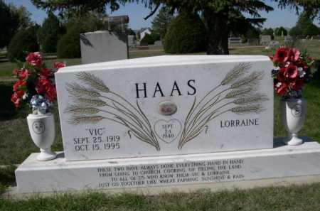 HAAS, VIC - Dawes County, Nebraska   VIC HAAS - Nebraska Gravestone Photos