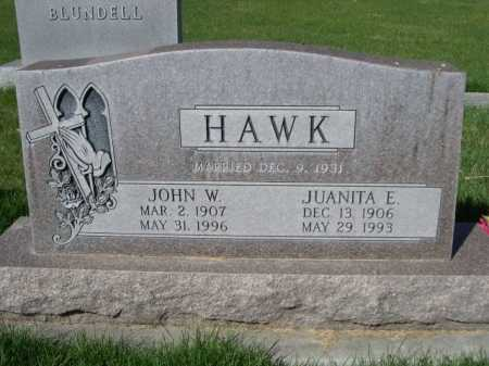 HAWK, JOHN W. - Dawes County, Nebraska | JOHN W. HAWK - Nebraska Gravestone Photos